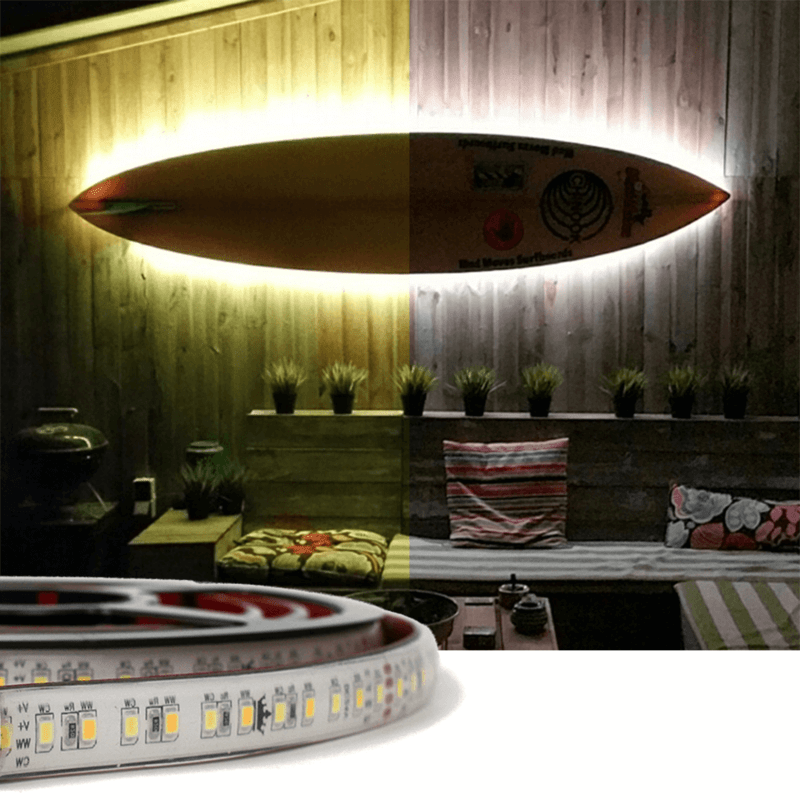 1 meter Dual White Premium led strip voor buiten losse strip