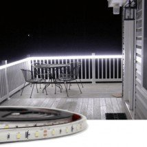 1 meter Koud Wit Basic led strip voor buiten losse strip