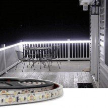 1 meter led strip Koud Wit Premium voor buiten losse strip