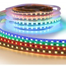 1 meter RGBW led strip Premium met 72 leds - losse strip
