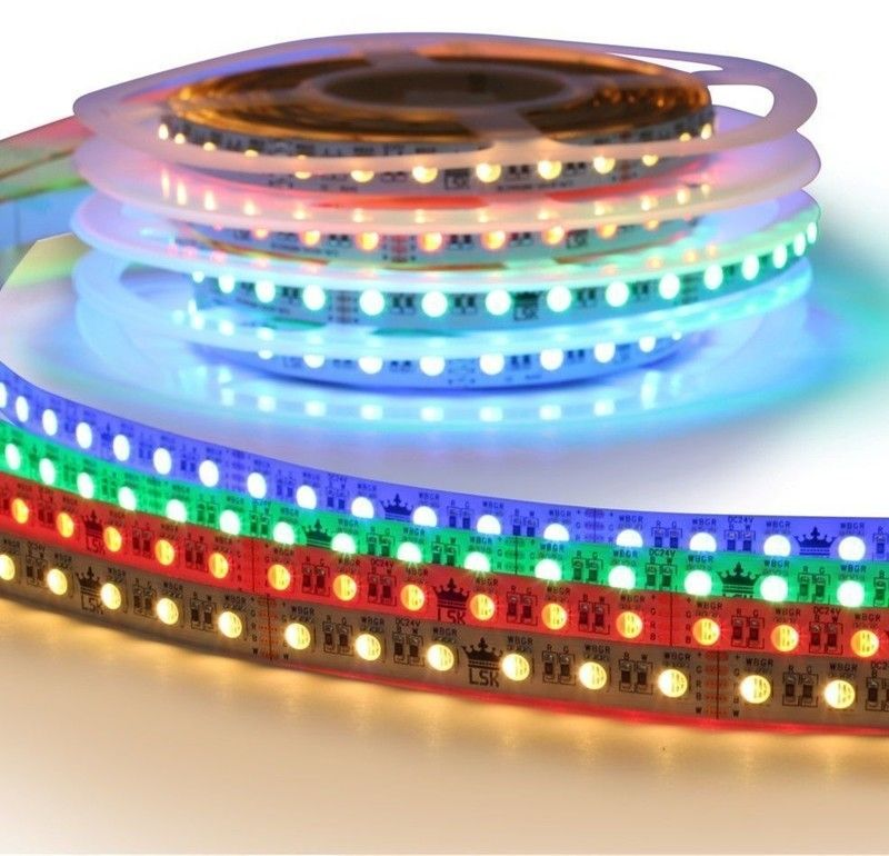 5 meter RGBW led strip Premium met 360 leds - losse strip