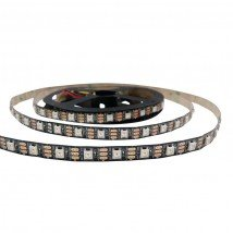 5 meter WS2812b digitale RGB ledstrip Premium - losse strip