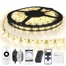 10 METER - 600 LEDS complete led strip set Helder Wit