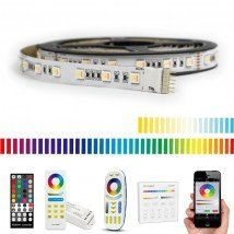 10 meter RGBWW led strip Premium met 600 leds - complete set