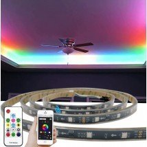 10 meter WS2811 digitale RGB led strip set - Basic