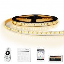 12 meter led strip Warm Wit Pro - complete set