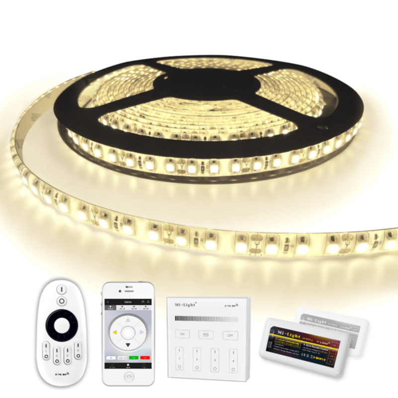 13 METER - 1560 LEDS complete led strip set Helder Wit