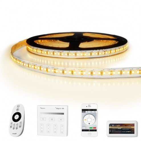 17 meter led strip Warm Wit Pro - complete set