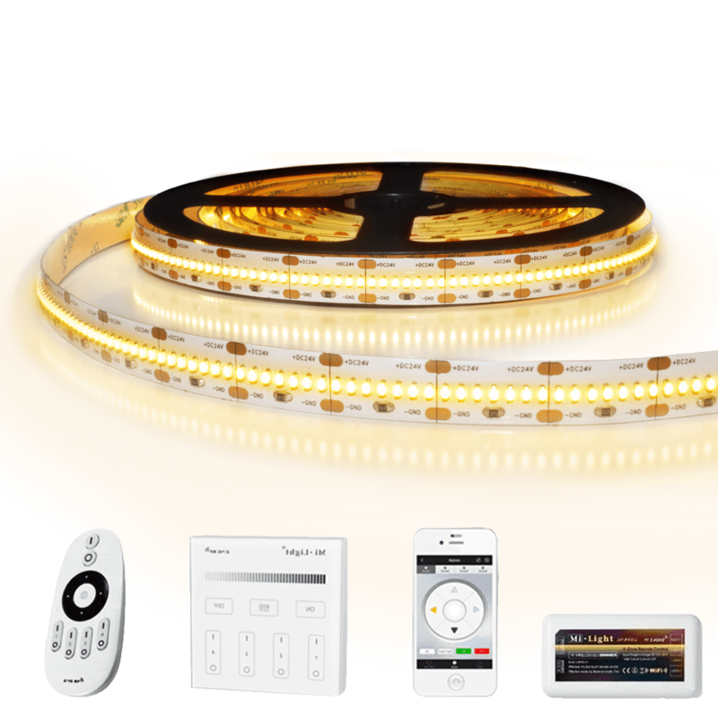 18 meter led strip Warm Wit Pro 420 - complete set