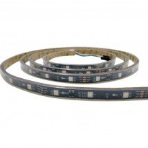 5 meter WS2811 digitale RGB led strip Basic - losse strip