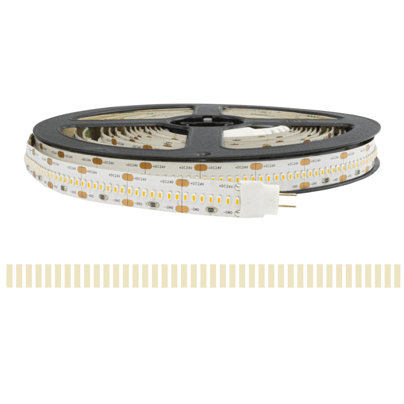2 meter led strip HELDER WIT - 840 leds