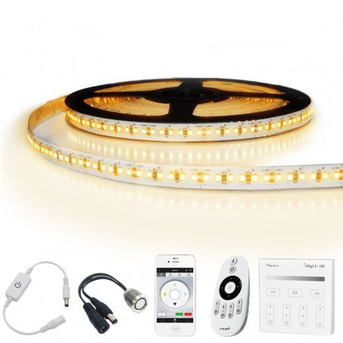2 meter led strip Warm Wit Pro - complete set