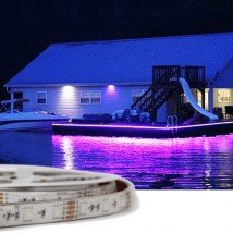 2 meter RGB led strip voor buiten losse strip