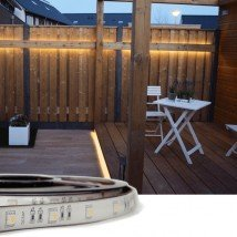 3 meter RGBW Basic led strip voor buiten losse strip