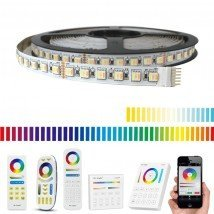 20 meter RGBWW led strip Pro met 1920 leds - complete set