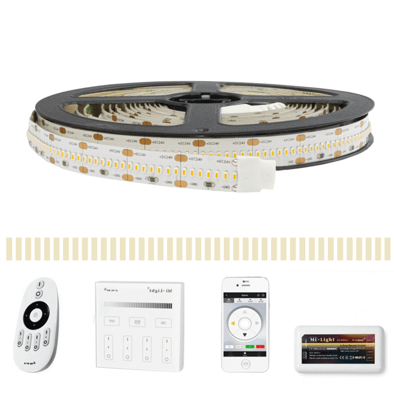 25 METER - 10500 LEDS complete led strip set Helder Wit Pro