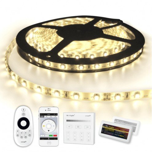 25 METER - 1500 LEDS complete led strip set Helder Wit