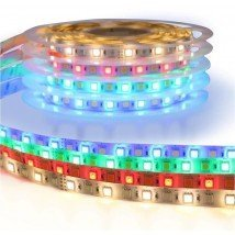 3 meter RGBW led strip Basic met 108 leds - losse strip