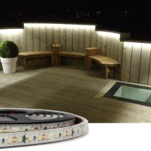 3 meter Helder Wit Premium led strip voor buiten losse strip