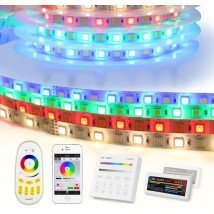 35 meter RGBW led strip complete set - Basic 2520 leds