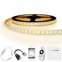 4 meter led strip Warm Wit Pro - complete set