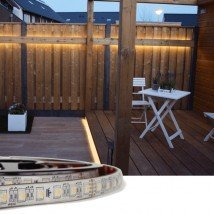 4 meter RGBW led strip voor buiten losse strip