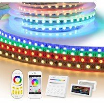 45 meter RGBW led strip complete set - Premium 3240 leds