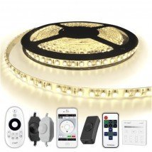 5 METER - 600 LEDS complete led strip set Helder Wit
