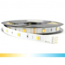 5 meter Dual White led strip Basic met 300 leds - losse strip