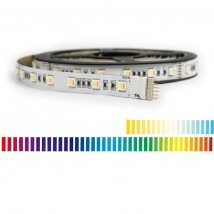 10 meter RGBWW led strip Premium met 600 leds - losse strip