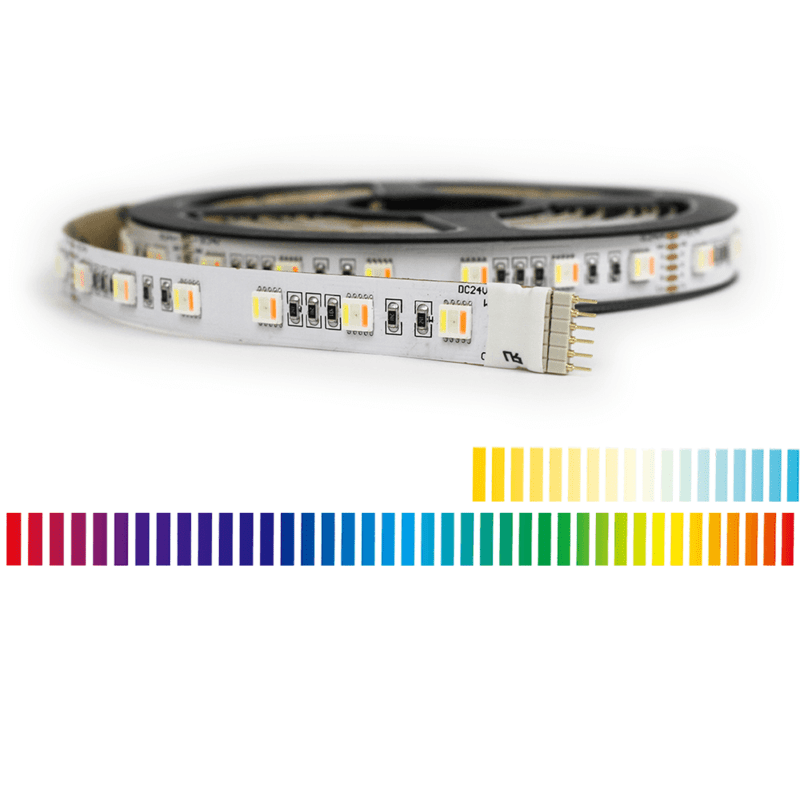 6 meter RGBWW led strip Premium met 360 leds - losse strip