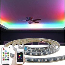 50 meter WS2811 digitale RGB led strip set - Premium