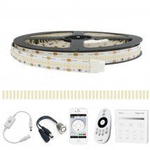 6 METER - 2520 LEDS complete led strip set Helder Wit Pro