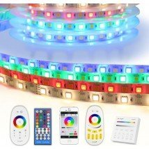 7 meter RGBW led strip complete set - Basic 252 leds
