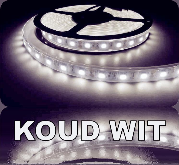 70 t/m 100 cm aquarium LED strip Koud Wit