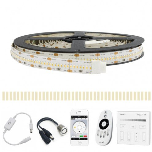 8 METER - 3360 LEDS complete led strip set Helder Wit Pro