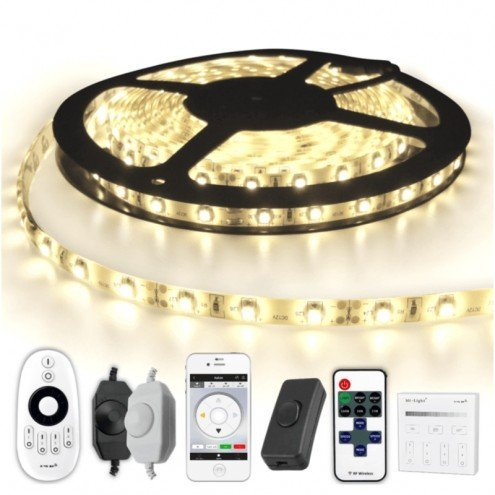 8 METER - 480 LEDS complete led strip set Helder Wit