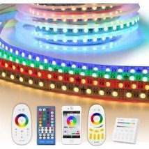 8 meter RGBW led strip complete set - Premium 576 leds
