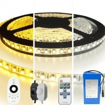 Led strip op batterij Warm wit