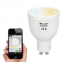 Milight led spot set Dual White mt Wifi module 5 watt GU10