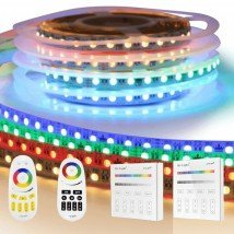 RGBW Premium led strip set met afstandsbediening 1 tot 10 meter