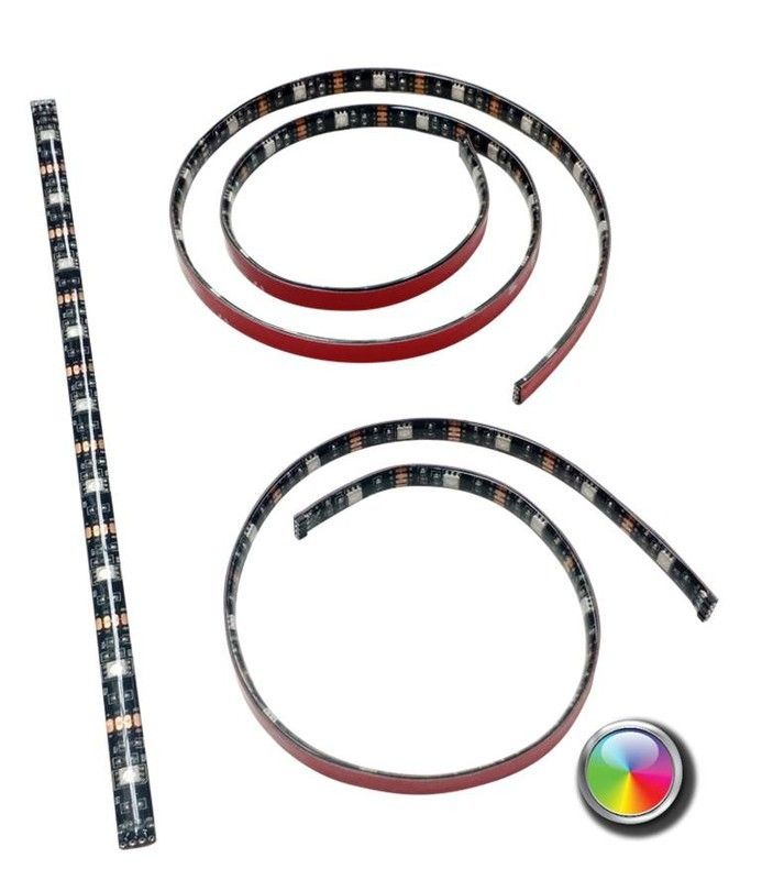 USB led strip RGB van 40 cm - losse strip