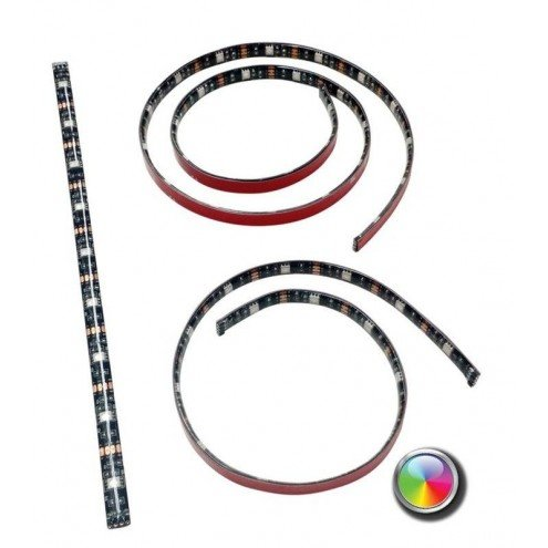 USB led strip RGB van 50 cm - losse strip