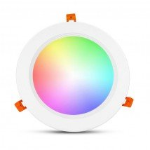 WIFI LED RGBWW inbouwspot downlight 25 Watt