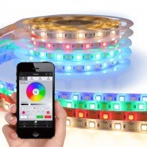 Wifi set met 1 tot 10 meter RGBW led strip Basic