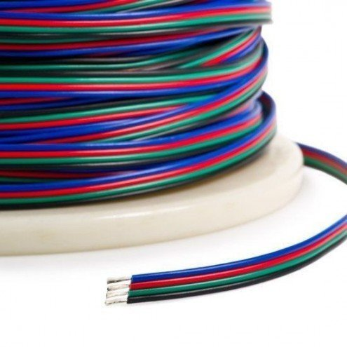 15 meter losse RGB kabel
