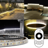 Complete sets led strip buiten Wit