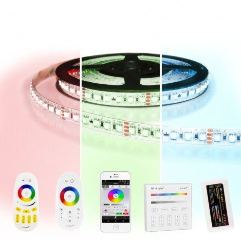 2 meter RGB Pro led strip complete set - 240 leds