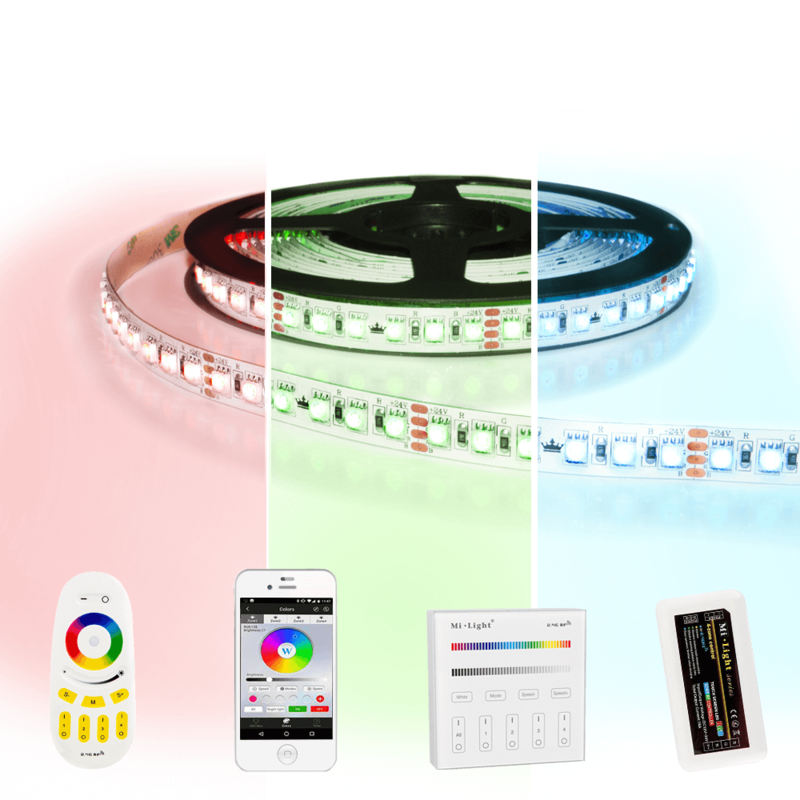 20 meter RGB Pro led strip complete set - 2400 leds