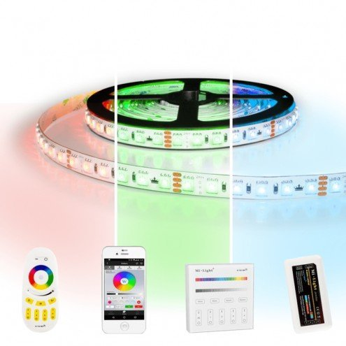 24 meter RGB Pro led strip complete set - 2304 leds